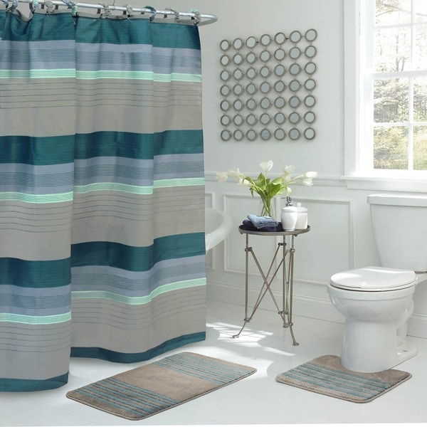 stage starlight shower curtain liner