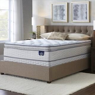 Serta Westview Super Pillow Top Twin Size Mattress Set