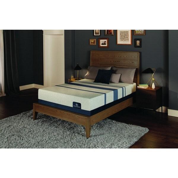 Serta Icomfort Blue 100 10 Inch Twin Size Gel Memory Foam Mattress Set