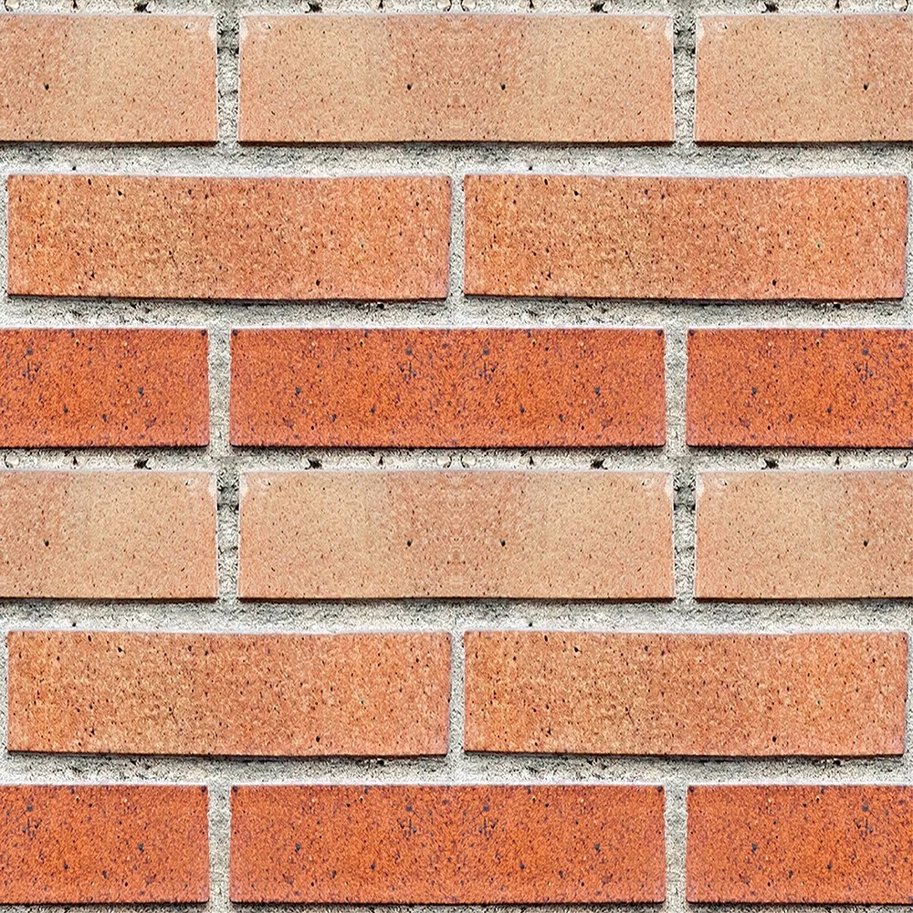 red bricks peel stick foam tiles