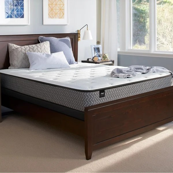 Sealy Response Essentials 8 5 Inch King Size Firm Mattress