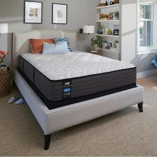 Sealy Response Essentials 8 5 Inch Firm Full Size Mattress Set