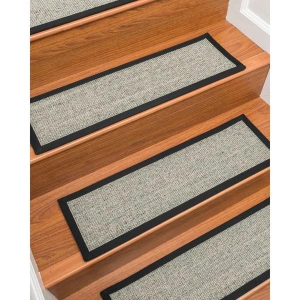 Shop Gardner Sisal Carpet Stair Treads Set Of 13 13Pc 9 X 29   Cheap Carpet Stair Treads   Carpet Runners   Wall Carpet   Wool Carpet   Rugs   Stair Runner