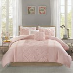 Intelligent Design Shayda Blush 5 Piece Comforter Set Overstock 17033117