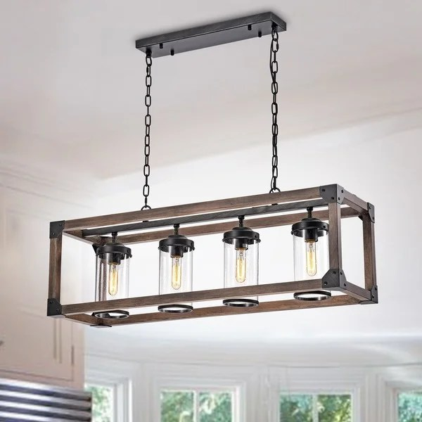 Rustic Wood Light Fixtures