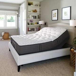 Sealy Response Performance 12 5 Inch Cushion Firm King Size Ease Adjule Mattress Set