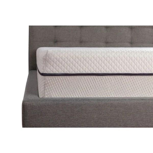 Sealy 12 Inch King Size Memory Foam Mattress Free Shipping Today 23902584