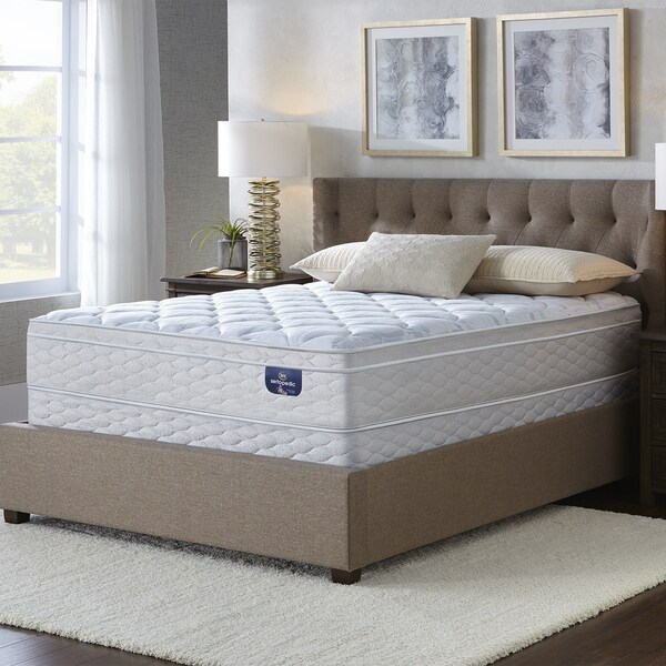 Serta Faircrest 11 5 Inch Eurotop Full Size Mattress