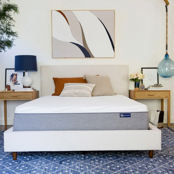 Serta 12 Inch Gel Memory Foam Queen Size Mattress In A Box Free Shipping Today 24357126
