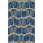 Shop Black Friday Deals On Addison Taylor Blue Grey Geometric Area Rug 5 X 7 6 Overstock 18611325