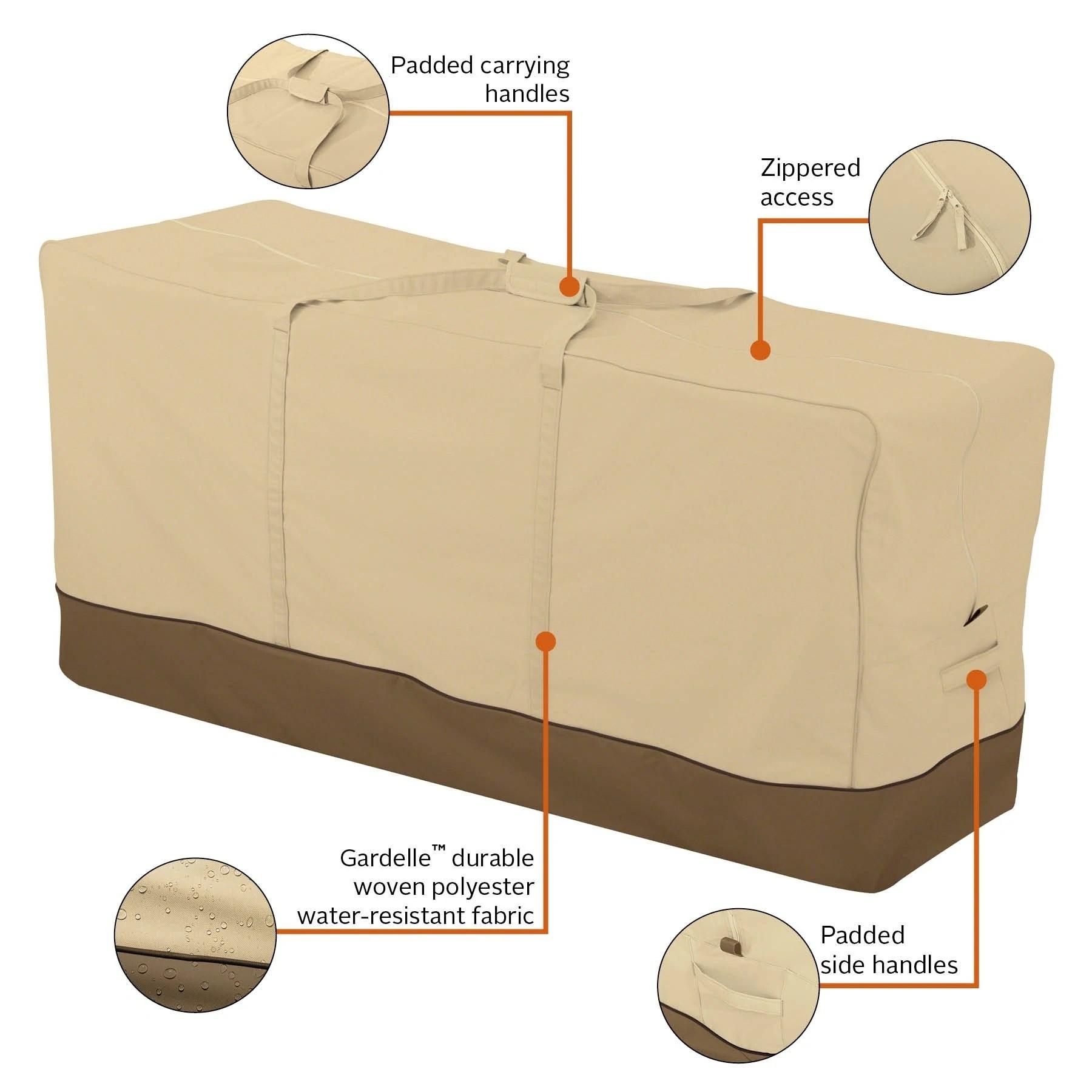 waterproof patio cushion and furniture