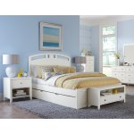 Hillsdale Pulse Queen Arch Bed With Trundle White Overstock 18695412