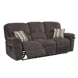 Buy Recliner Sofas   Couches Online at Overstock com   Our Best     Maisie Dual Recliner Sofa  Manual  Power