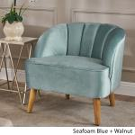 Amaia Modern Velvet Club Chair By Christopher Knight Home On Sale Overstock 19490499