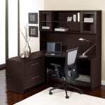 Premium Pro Corner L Shaped Desk With Hutch On Sale Overstock 19895961