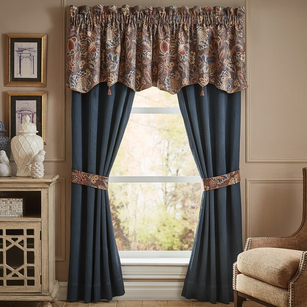 Shop Croscill Brenna Curtain Panel Pair Free Shipping Today Overstock 20192403