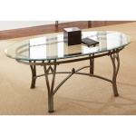 Copper Grove Woodend Glass Top Oval Coffee Table Overstock 20254806
