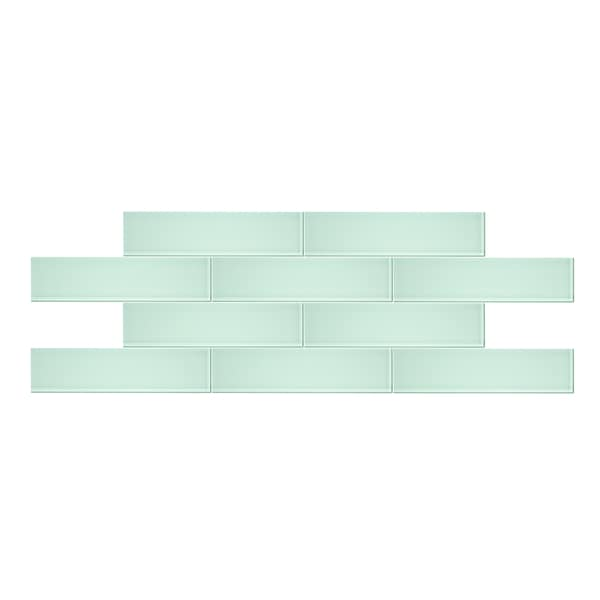 3 x 12 seafoam glass subway tile