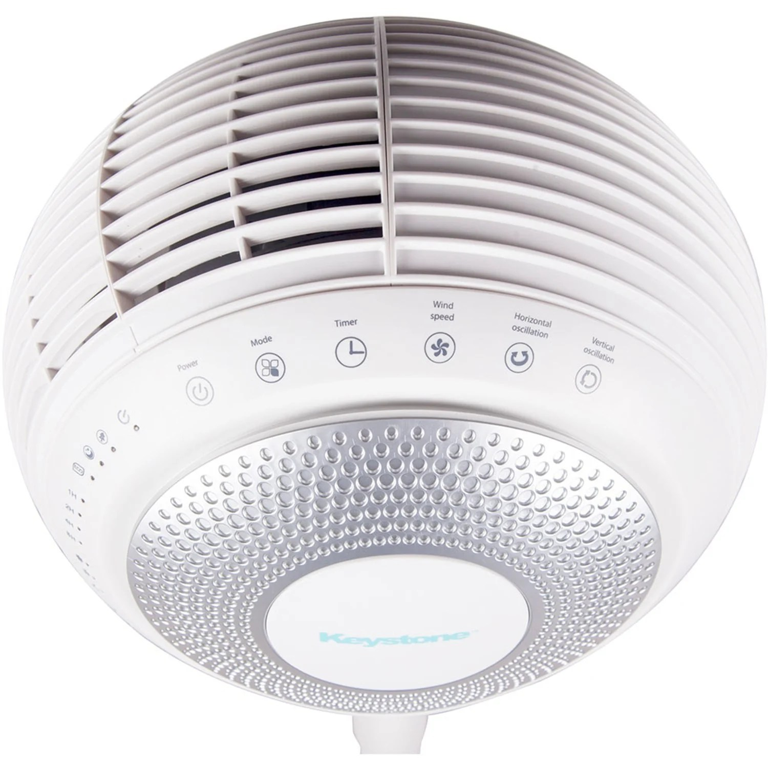 Shop Black Friday Deals On 360 Indoor Fan With Eco Mode In White Overstock 20465568