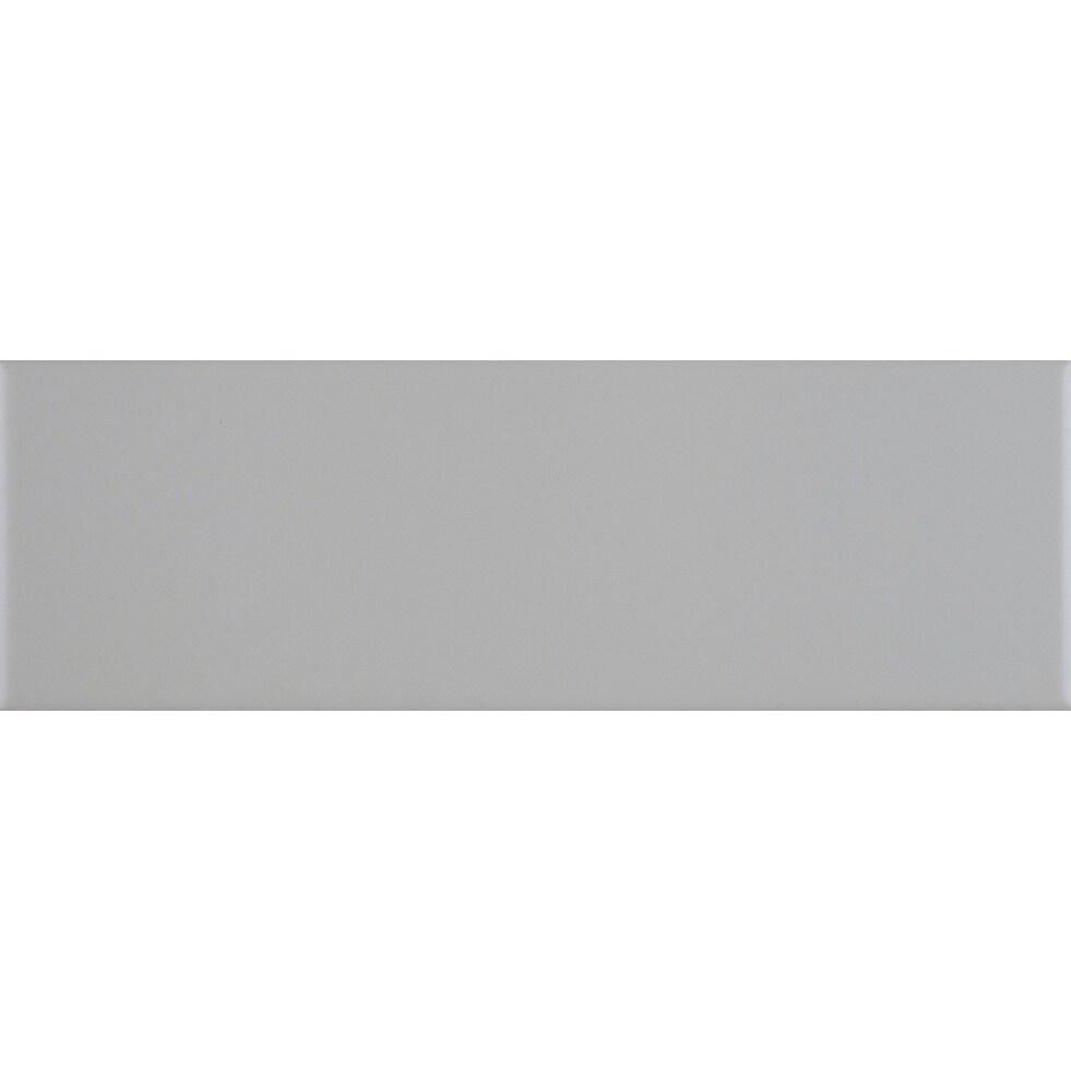 sophisticated 4x12 inch glazed ceramic field tile in matte desert gray 4x12