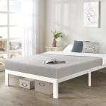 Crown Comfort Titan E Queen Size Heavy Duty Steel Platform Bed Frame Overstock 20859135