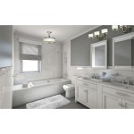 Shop Black Friday Deals On Carlisle 3 Light Chrome Bathroom Vanity Fixture 22 25 In W X 8 In H X 7 5 In D Overstock 20907618