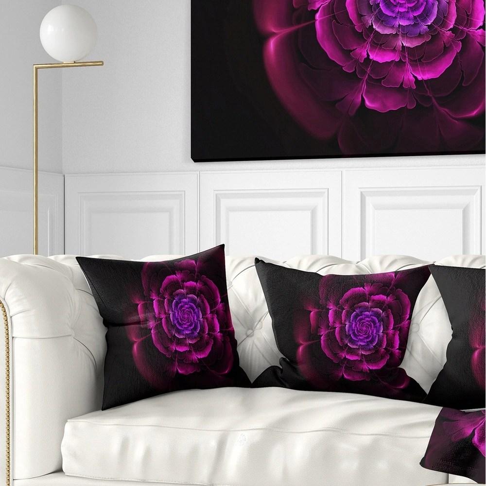 buy purple round throw pillows online