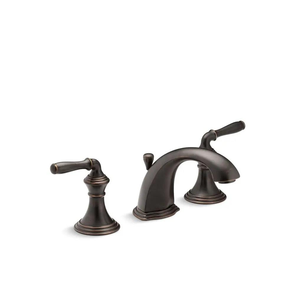 widespread kohler bathroom faucets