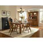Broyhill Attic Heirlooms Rectangular Leg Dining Table Brown Overstock 21620765