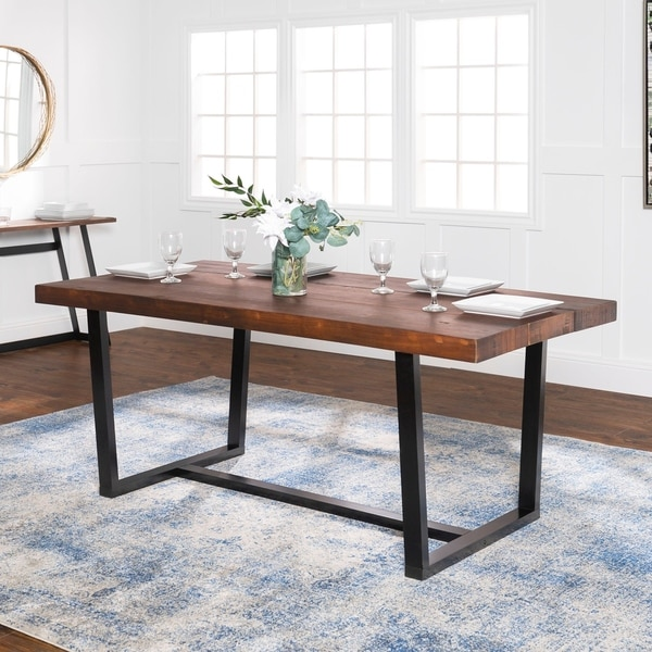 shop rustic farmhouse distressed solid wood dining table on solid wood dining table id=28285
