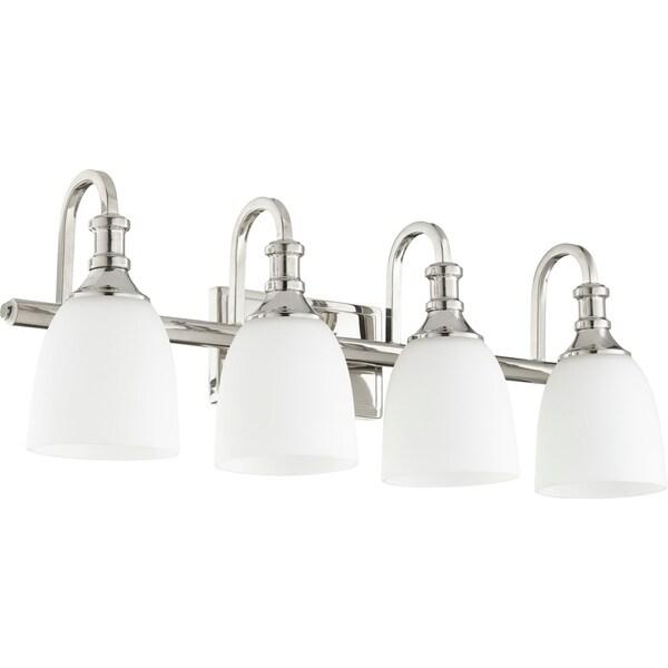 richmond polished nickel 4 light vanity lighting
