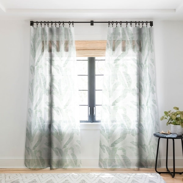 buy floral sheer curtains online at