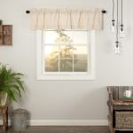 Valances Home Vhc Brands Farmhouse French Country Curtains Simple Life Flax Solid Valance Natural 16 L X 72 W