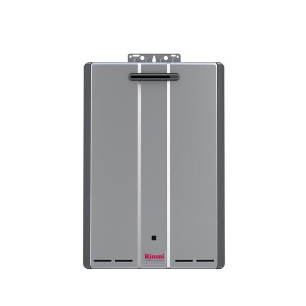 Rinnai Tankless Water Heater Ext Ctwh 199k Btu 11gpm Max Pump Valve Rur199en Silver