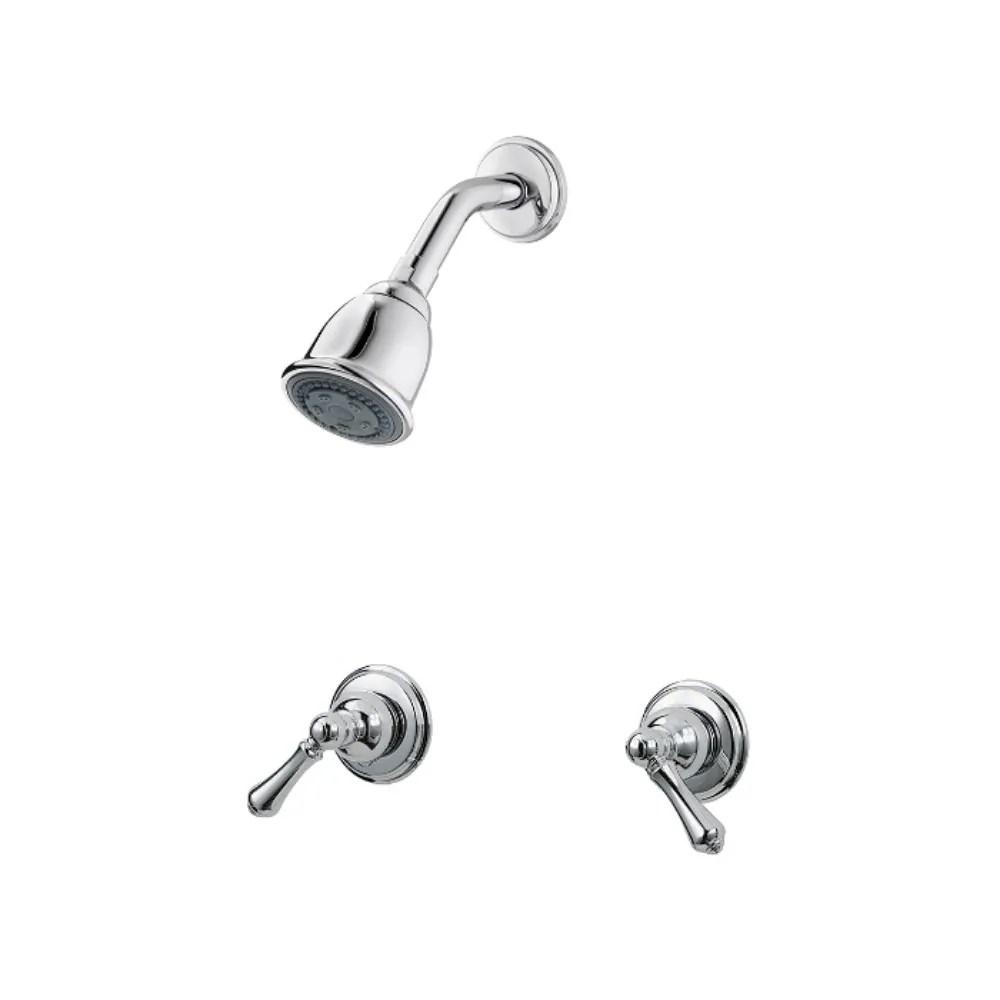 pfister 07 series two handle shower chrome lg07 81bc