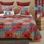 Barefoot Bungalow Indie Spice Oversized Reversible Quilt Set Overstock 22987980