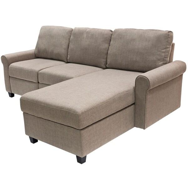 serta copenhagen reclining sectional