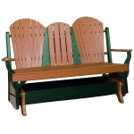 Shop Outdoor Glider Bench W Center Drop Down Table Overstock 23116025
