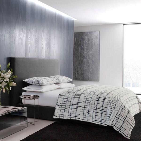 Shop Vera Wang Shibori Grid Comforter Set On Sale Free