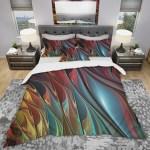 Designart Leaves Of Color Modern Contemporary Bedding Set Duvet Cover Shams On Sale Overstock 23507416
