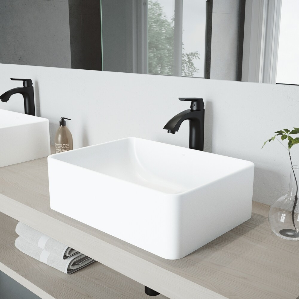 buy black vessel sink faucet sets