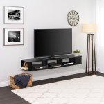 Prepac 70 Inch Wide Wall Mounted Tv Stand Overstock 25437718