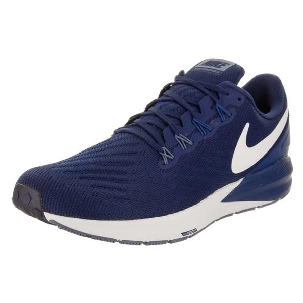 Shop Nike Men's Air Zoom Structure 22 Running Shoe - Free ...