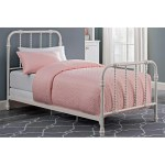 Shop Black Friday Deals On Dhp Jenny Lind White Scroll Twin Metal Bed And Mattress Overstock 25606665