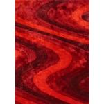Shop Black Friday Deals On Red Burgundy Contemporary 5x7 Area Rug 5 X 7 Overstock 25860666