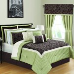 Shop Kyle Ii Sage And Brown 16 Piece California King Size Quilted Comforter Bed In A Bag As Is Item Overstock 26279195