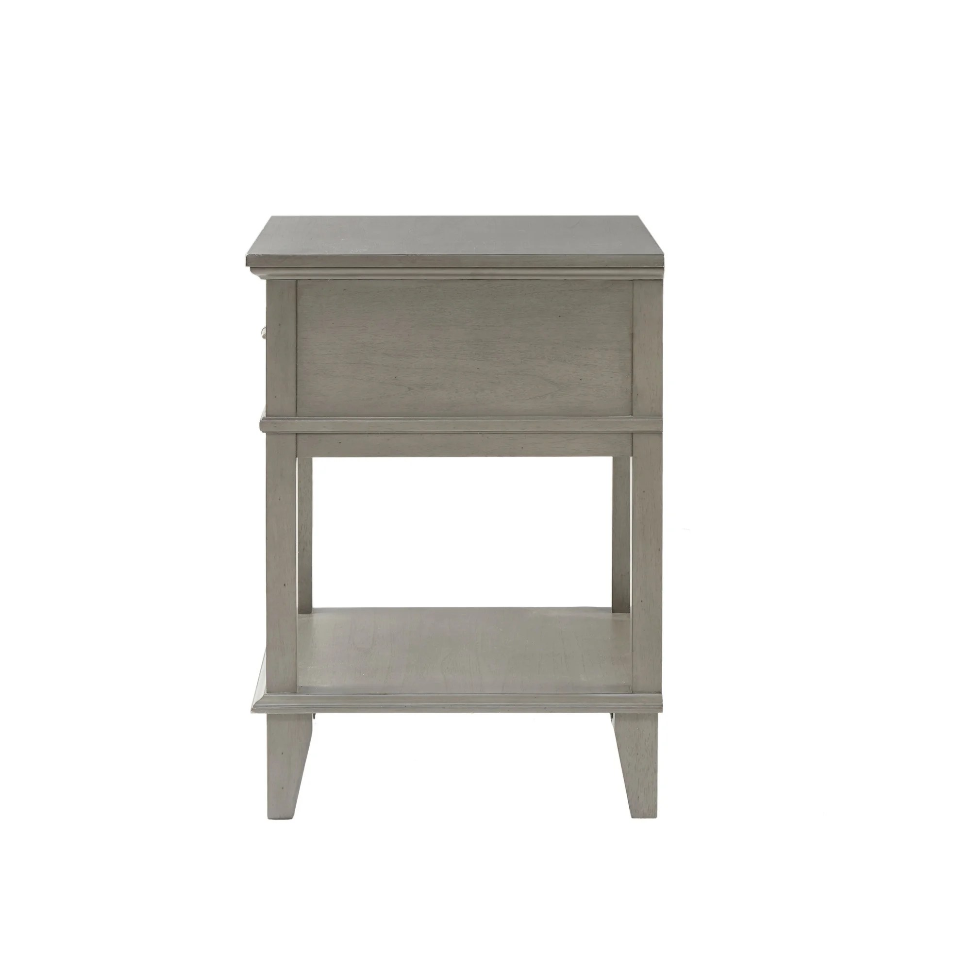 Madison Park Signature Yardley Reclaimed Grey Nightstand