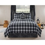 Vail Cabin And Lodge Gray Plaid Comforter Set Overstock 26853919