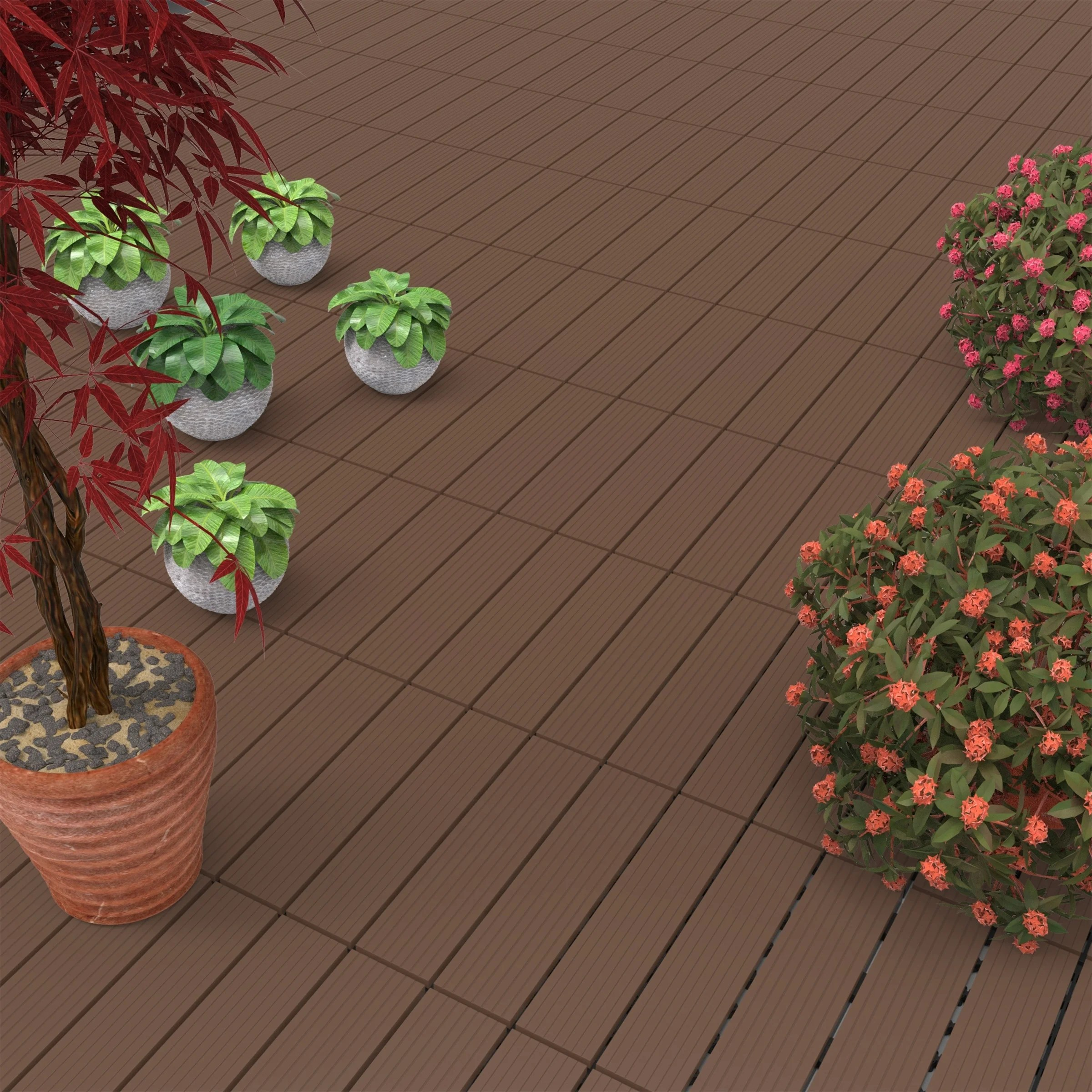 anti slip patio pavers