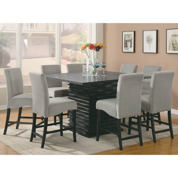 annapolis 9 piece counter height dining set